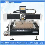 china hobby cnc router metal cutting machine / dsp controller cnc router / mini desktop cnc router
