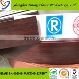 Roma quality living room furniture plastic shelf edge band pvc profile strip