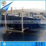 China Weiliang factory FYBS square hanging type vibratory screener sieve sifter machine for sand/salt