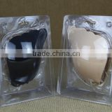 push up breast silicone bra black & nude, 2 colors silicone bra
