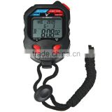 3-Row 100 Memories LCD Digital Sports Training Stopwatch with Calendar PC100D