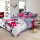 2015 Wholesale hand painted cotton/poly Bed Sheets 3D Reactive Printed Duvet Cover Set from pakistan