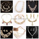 Hot jewelry imitation pearl necklace