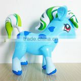 Hot selling high quality customized cute inflatable pvc horse