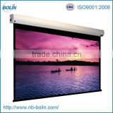 projector screen motorized wall mounted
