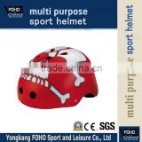 HE005 ABS shell Printing graphic pattern fancy safty helmet