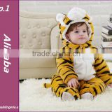 Wholesale 2014 NEWBORN BABY TODDLER ANIMAL TIGER BODYSUIT OUTFIT ROMPER CLOTHES CLIMBING