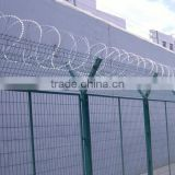 factory wholesale hot-dipped galvanized razor barbed wire mesh fence