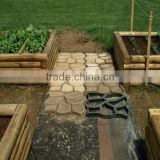 mold concrete/mold garden/mold paving