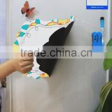 Wholesale magnetic memo board magnetic notes white board refrigerator magent board stick on fridge