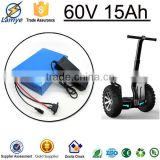 Hot selling wholesale electric bike electric scooter 60 volt lithium battery 60 volt 15ah with BMS