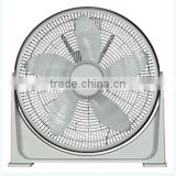 Adjustable Table Fan or Floor Fan - 16 Inch - 360 Degree Vertical Tilt, Durable & Lightweight, 3 Energy Efficient Fan Speeds -UL