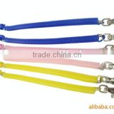 Colored plastic compression springs