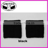 high quality black color blank sweatbands