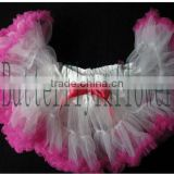 Latest Skirt Design Pictures Baby Kids Girls Dancewear Cute Chiffon Tutu Full Pettiskirt Princess Skirt 0-6Y