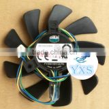 HD7950 HD6790 dc12v 0.6a 4wires FY09015H12LPA for video card fan