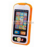 Plastic Kids Mobile Phone Toys, Baby Musical Early Learning Phone Toys With Light And Music