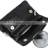 PU Leather Portable tobacco smoking pipe bag pouch case TB-105