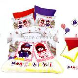 China fashionable cartoon design fabric for children duvet cover sets