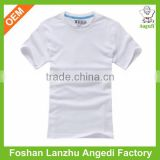 Plain white tshirts custom t shirt short sleeve simple design sport sweat t shirt for boy