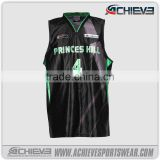 custom sleeveless latest sublimation basketball jersey for sale basketball