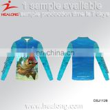 Custom Sublimation Long Sleeve Sport Apparel Clothing Wear Jersey Fishing Shirt