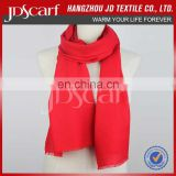 Trade assurance supplier Long 100% wool scarf ,winter scarf