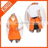 Funny wholesale cotton custom design butcher apron