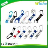Winho Best Carabiner Key Tags with Split Rings