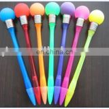 promotion gift bulb shaped light ball pen