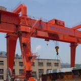 gold supplier hydraulic grab electric 50 ton gantry crane
