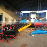 Hydraulic cutter suction sand dredger vessel/boat/mud machine/Dredging machine.