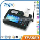2014 Telpo TPS550 android pos termianl machine with thermal printer/ camera, 2D Barcode Scanner, FingerPrint Scanner
