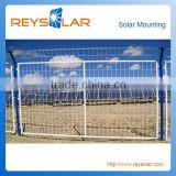 Galvanized Steel Protective Guard Weld Wire Mesh Fence for Solar Photovoltaic Protection