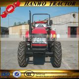Best quality 4wd Farm Tractor with front end loader and backhoe for sale