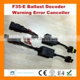 2015 new product F35-E 35W 12V hid xenon kit canbus led warning error canceller ballast decoder