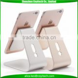 Aluminum gold silver black cell phone holder for 6 - 10.1 inch tablet pc and ipad