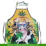 JAMAICAN REGGAE COW Funny sexy kitchen apron set cooking apron                                                                         Quality Choice
