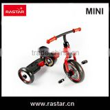 Rastar china factory BMW MINI licensed 3 wheel children bike bicycle toy