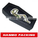 custom design&printed hallowmas coffin decorative gift boxes wholesal
