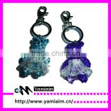Crystal bear phone keychain gift items