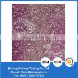cheap price glitter fabric for shoe upper material