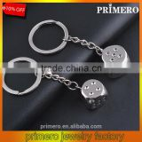 New Creative Metal Dice Alloy Las Vegas Keychain For Car Key Ring Trinket Wholesale