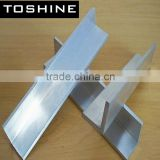 2014 Low Price High Quality mill finish 6063 customized aluminum angle aluminum extrusion profile