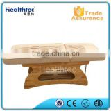 wood spa bed dry water massage bed