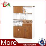 2014 new design cheap price wooden cupboard bookcase book shelf M2224