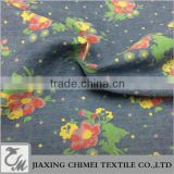 jiaxing six colors of printed pattern of tencel fabric and lyocell fabric for denim jeans
