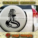 High quality large size reflective waterproof and uv resistant hollow out car body sticker