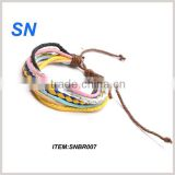 2013 hot sell fashion new design pretty genuine thread bracelet                                                                         Quality Choice