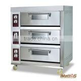 iMettos High quality Bakery conveyor pizza oven